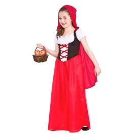 Roodkapje jurkje lang