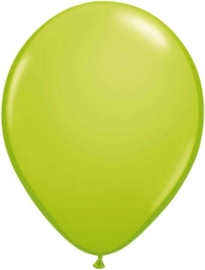 Kwaliteitsballon standaard appelgroen 10 stuks