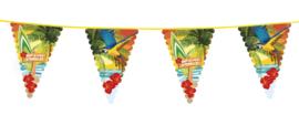 Beach tropisch vlaggenlijn
