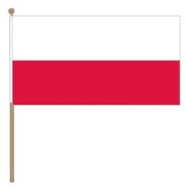 Zwaai vlaggetje Polen