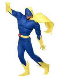 Banana man gespierd kostuum