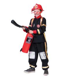 Brandweerman kostuum ed