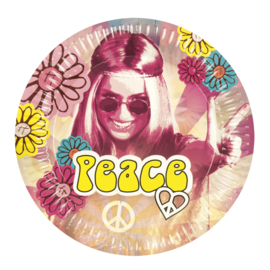 60's peace bordjes