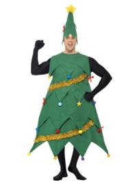 Kerstboom kostuum man