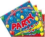 Uitnodigingskaarten vrolijke verjaardag