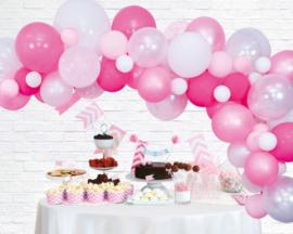 Ballonnen decoratie set luxe | pink