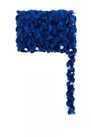 Paillettenband golvend blauw 3m