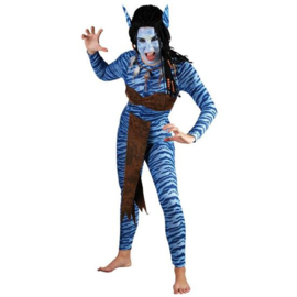 Strijder Avatar Neytiri kostuum