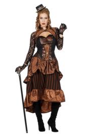 Steampunk jurk