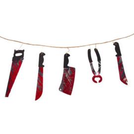 Slinger bloederig gereedschap