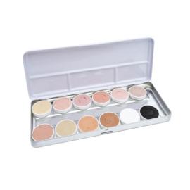 Aqua facepaint skin tone (12 kleuren)