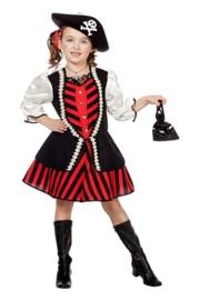 Piraten jurkje roodbaard