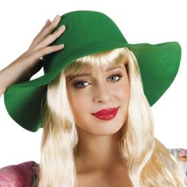 Flapper hoed groen