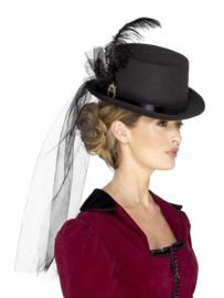 Luxe victoriaanse hoed