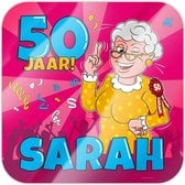 Deurbord 50 jaar | Sarah