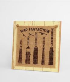 Wooden sign - Waddeneilanden |