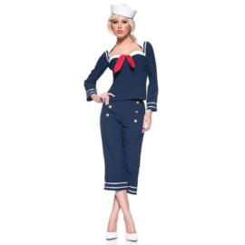 Ms matroos 50's kostuum
