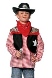 Cowboy vest easy