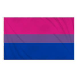 Vlag Bisexueel LGBTQ+ 90x150cm