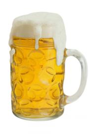 Wanddeco bierpul 55 x 40 cm