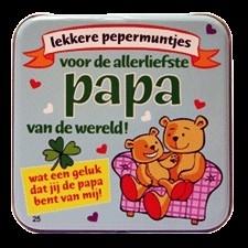 Fun pepermuntjes Allerliefste papa