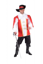 Musketiers kostuum deluxe op=op