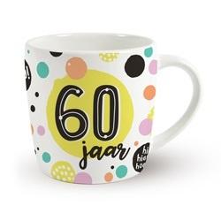 Verjaardags mok - 60 jaar | koffie beker