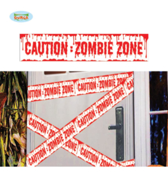 Afzetlint caution Zombie
