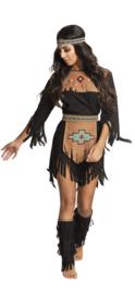 Indiaanse she-wolf jurkje
