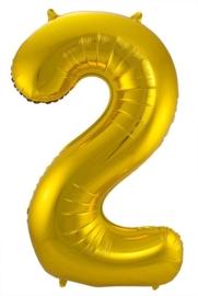 Folieballon 2 goud