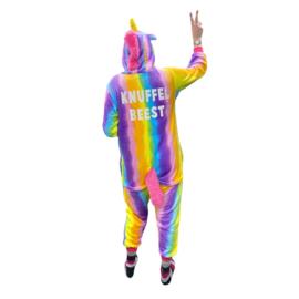 Crazy onesies unicorn rainbow | Knuffelbeest