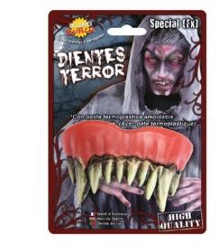 Horror vampiers tanden