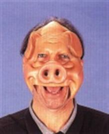 Masker rubber varkenskop OP=OP