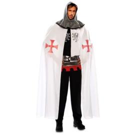 Middeleeuwse cape wit