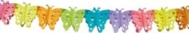 Slinger papier vlinder