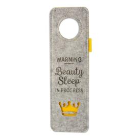 Deurhanger - Beauty Sleep | Vilt