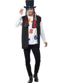 80'boy george kostuum