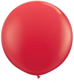 Ballon 90cm rood qualatex
