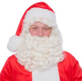 Kerstman baardset kanekalon