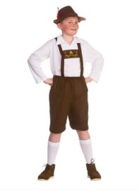 Tiroler jongens kostuum