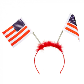 Tiara Amerikaanse vlaggen