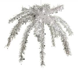 Plafond decoratie Zilver