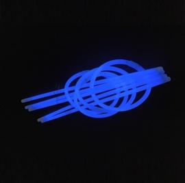 Glow sticks blauw 100 stuks
