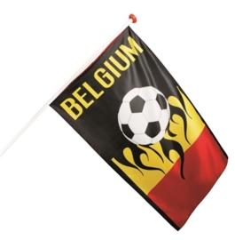 Voetbal vlag Belgium