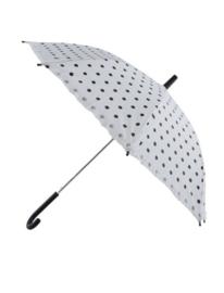 Paraplu dots 50's wit