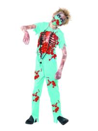 Zombie chirurg boys kostuum