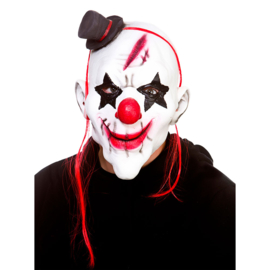 Latex masker - Evil Clown