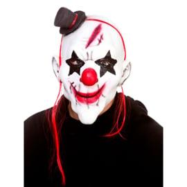Latex masker - Evil Clown