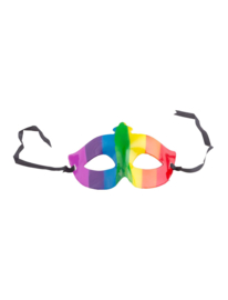 Oogmasker regenboog
