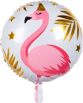 Folieballon Flamingo